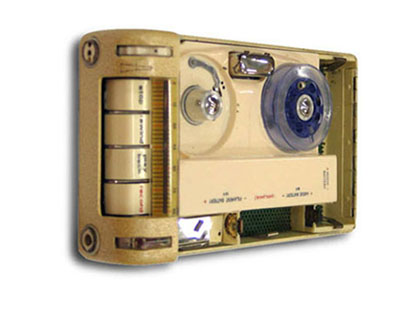Telefunken Minifon recorder, of the type used by agent Ron Richards to record secret interviews with Vladimir Petrov. Image courtesy of Screensound Australia.
